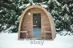 Sauna Pod Sauna Jardin Extérieur En Bois Sauna, Mieux Que Le Canon Harvia Wood Fired