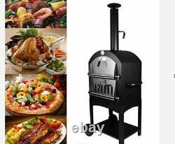 Super Grills En Plein Air Pizza Four Bois Feu Jardin Charcoal Bbq Barbecue Grill