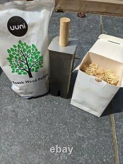 Uuni / Ooni 3 Four À Pizza À Feu De Bois Extérieur Avec Brûleur À Gaz Supplémentaire