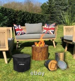 Wood Firepiit Garden Heater Smokeless Crop Candle Plus Chaud Que Les Fosses À Gaz
